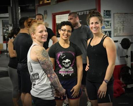 Candace Puopolo, Lodrina Cherne, and Jessica Diedrich.